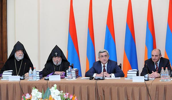 Armenian genocide centennial commemoration commission begins its work