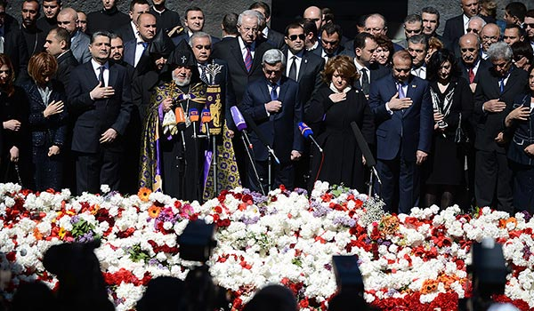 April 24 Analysis: Armenian rhetoric toughens ahead of approaching Genocide Centennial