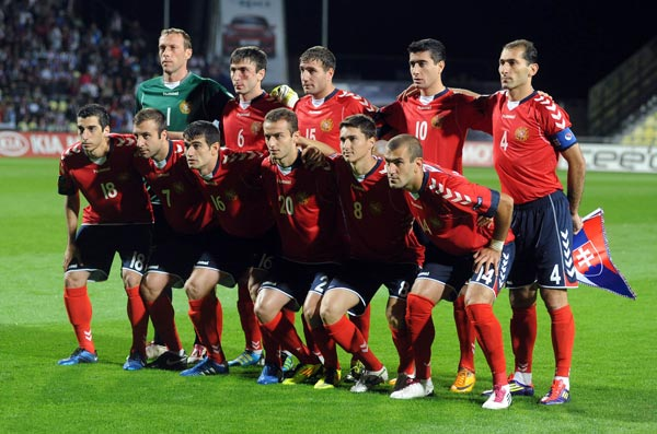 Soccer: Armenia record high on FIFA rankings