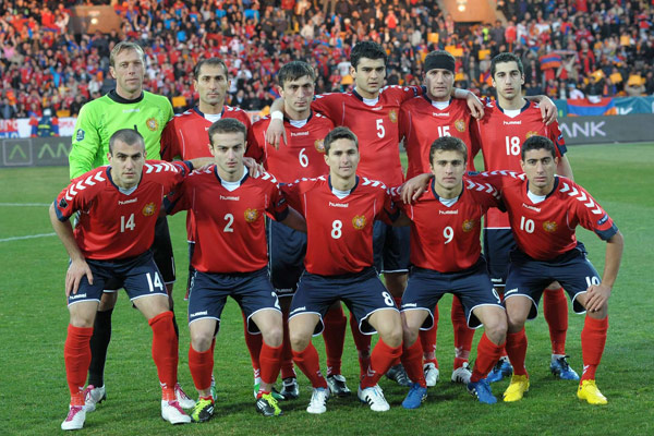 Football: Armenia, Russia hear opposite post mortems after Yerevan match