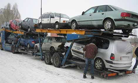Moving Up: Number of vehicles imported takes significant jump