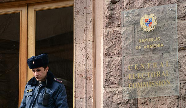 CEC: More than 1,700 observers to monitor Yerevan elections