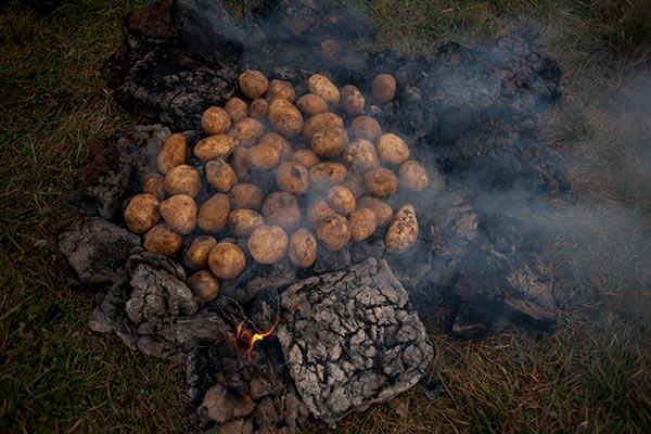 Փռի կարտոֆիլ, տնական օղի, քեֆ-ուրախություն. Գանձակ գյուղի առաջին կարտոֆիլի փառատոնը