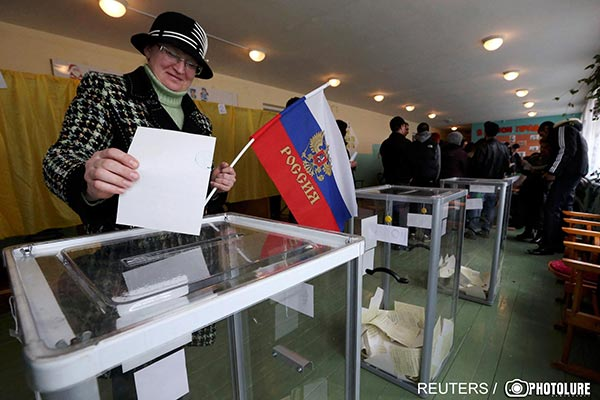 Crimea votes to join Russia: Armenia observes 'silently' new realities emerge in post-Soviet neighborhood