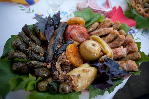 Armenian Food Dishes
