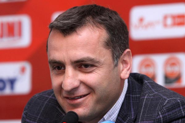 Soccer: Armenia coach notes higher competition among squad players
