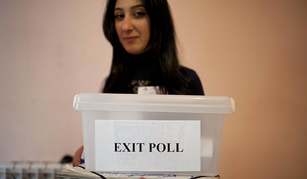 Decision 2013: Exit polls to offer glimpse of voter activity