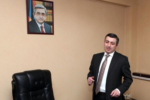 Honor?: Promotion of  Poghosyan draws angry response