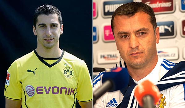 Soccer: Mkhitaryan best player, Minasyan best coach in 2013
