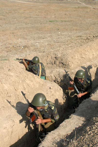 One Armenian soldier wounded in skirmish with Azeris in Karabakh