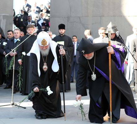 Russian Church Denies Denying: Patriarch Kirill says position on Armenian Genocide unchanged
