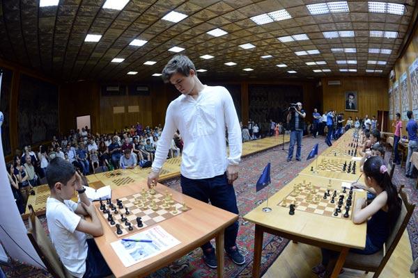 Chess: Armenian lawmaker beats world champion