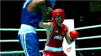 Boxing: Armenian defeats Azeri rival at Baku championships
