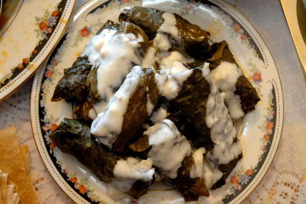 The Most Armenian Dish: Grape leaf dolma