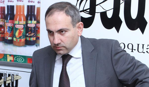 Opposition lawmaker says will seek Sargsyan's impeachment