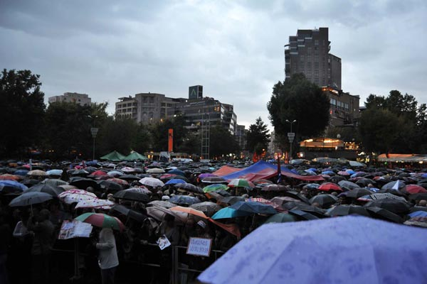 """Civil Feast"": ANC vows seven-day sit-in at Freedom Square"
