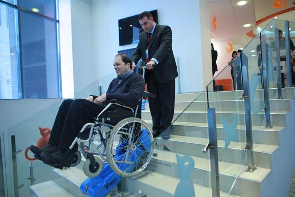 Orange to make accessible its shops to people in wheelchairs