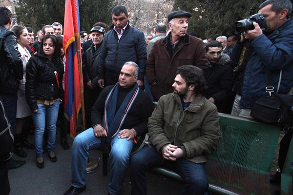 Decision 2013: Raffi Hovannisian goes on hunger strike