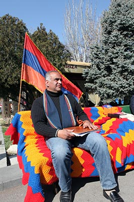 "Hovannisian on Strike: Day 1 ""wonderful"", says the opposition leader"