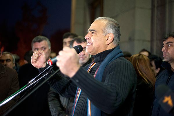 Decision 2013: Hovannisian says 'committed' to struggle after no compromise with Sargsyan