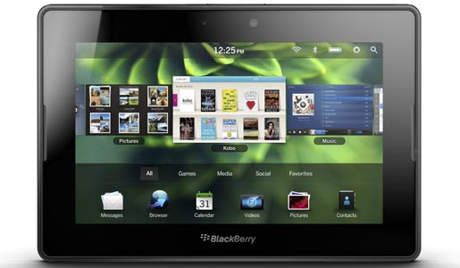VivaCell-MTS presents the new BlackBerry® PlayBook™ tablet