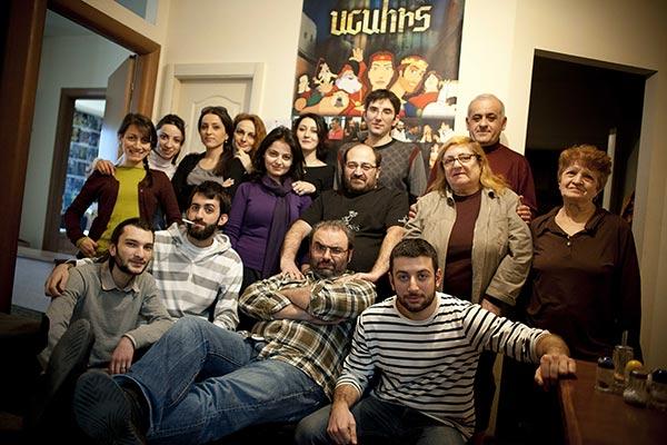 """Anahit"": Armenian classic tale becomes animation film by Sahakyants"