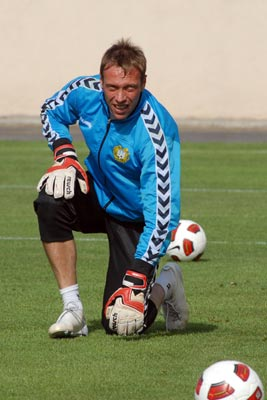 Blue and White Berezovsky Again: Armenia's goalkeeper back with Dynamo