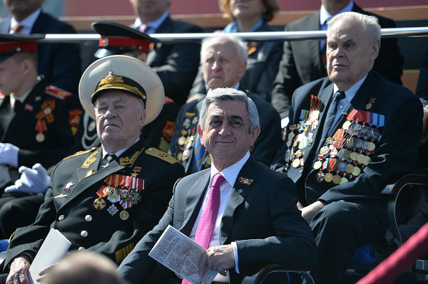 Victory Day: Armenian president, defense minister attend Moscow parade