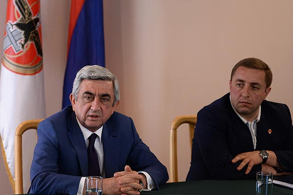 "Sargsyan reacts to Astana statements: Nazarbayev remarks, he says, ""can't harm us"""