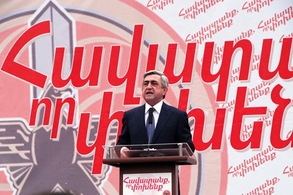 Vote 2012: Armenian parties hit campaign trail to get their messages across