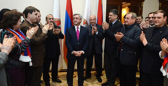 Decision 2013: Serzh Sargsyan wins in Armenia's presidential election
