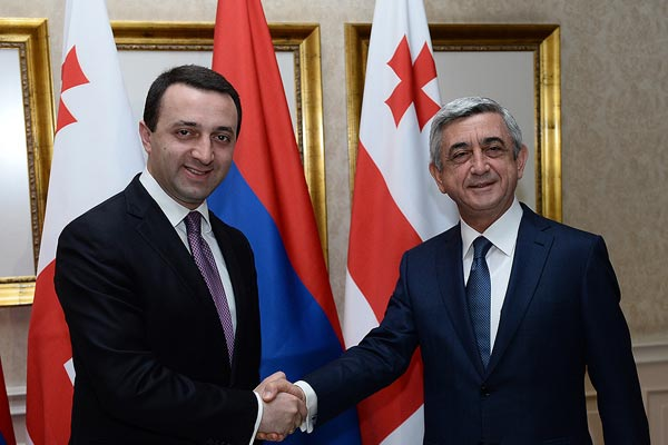 Regional Divide: Sargsyan's Georgia visit likely to have focused on Abkhazia railroad, customs issue