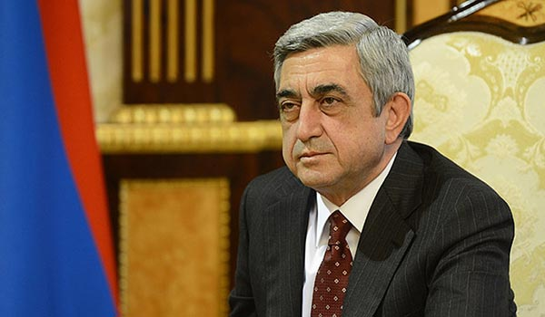 Decision 2013: Sargsyan says will not visit hunger-striking opponent, calls for 'concrete' proposal