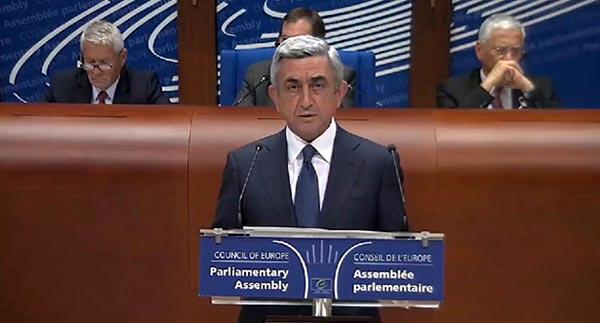 President Sargsyan says Armenia to continue cooperation with EU