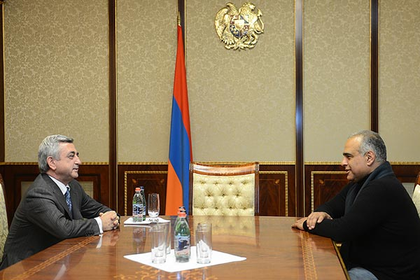 Decision 2013: Hovannisian in talks with Sargsyan amid post-election standoff