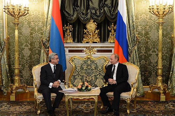Putin-Sargsyan: Few details released about Moscow meeting believed to have reviewed key geopolitical issues