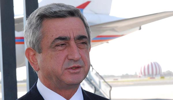 Armenian president to visit Lebanon before hosting Turkmen leader