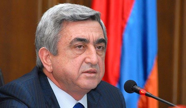 Sargsyan suspends election campaign amid shooting attack on Hayrikyan