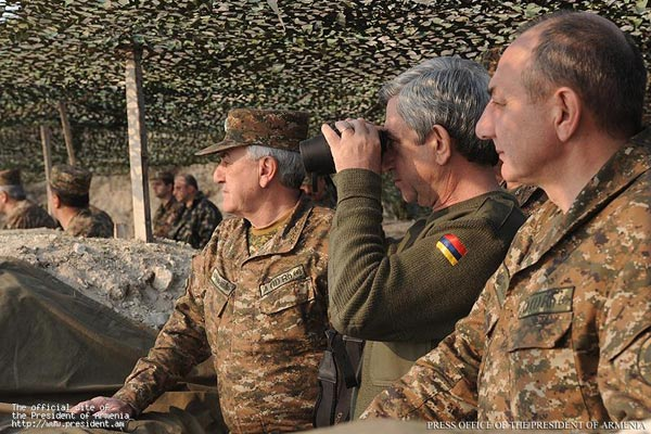 Word for Word: Sargsyan replies to Aliyev