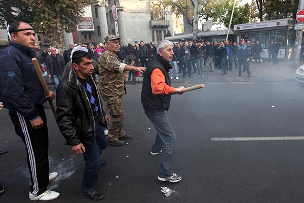 Failed 'Revolution Bid': November 5 melee in Yerevan revives memories of 2008 unrest