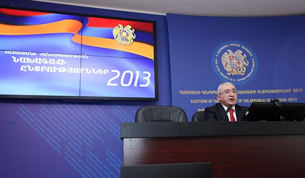 Decision 2013: Opposition leader rejects final election results, set to continue BAREVolution campaign