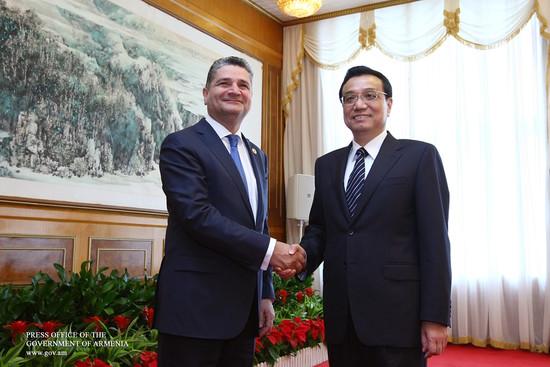 Armenia seeking observer status at Shanghai organization