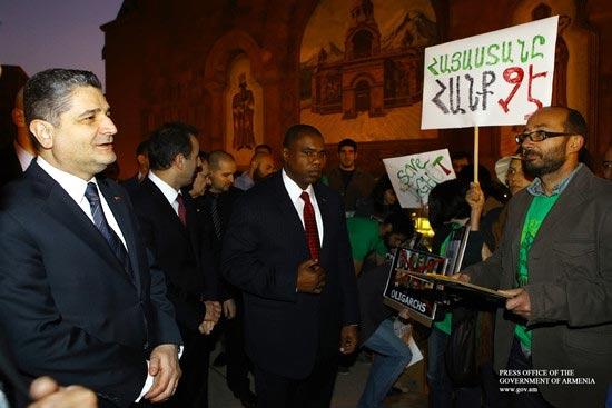 Talking Green: PM tells Diaspora environmentalists his government hears their concerns