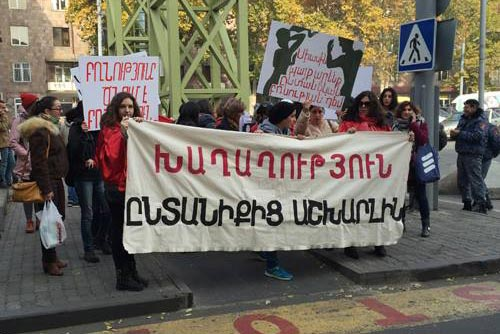 Against Gender Violence: Armenian NGOs sum up 16-day awareness campaign
