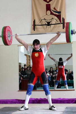 Weightlifting: Armenian wins silver at European championships