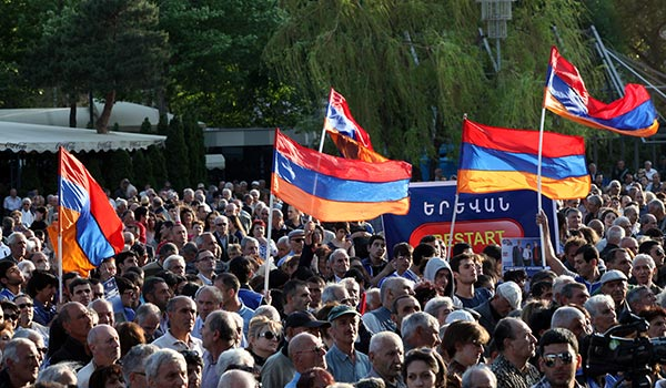 Yerevan Vote 2013: Opposition groups see no chance of RPA winning Sunday polls