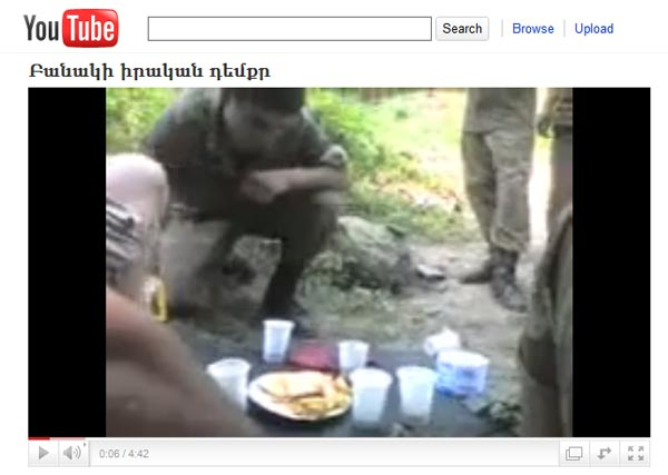 YouTube on agenda: Conscript who shot video may face punishment