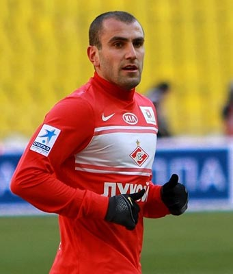 Soccer: Movsisyan becomes top scorer in Russian league